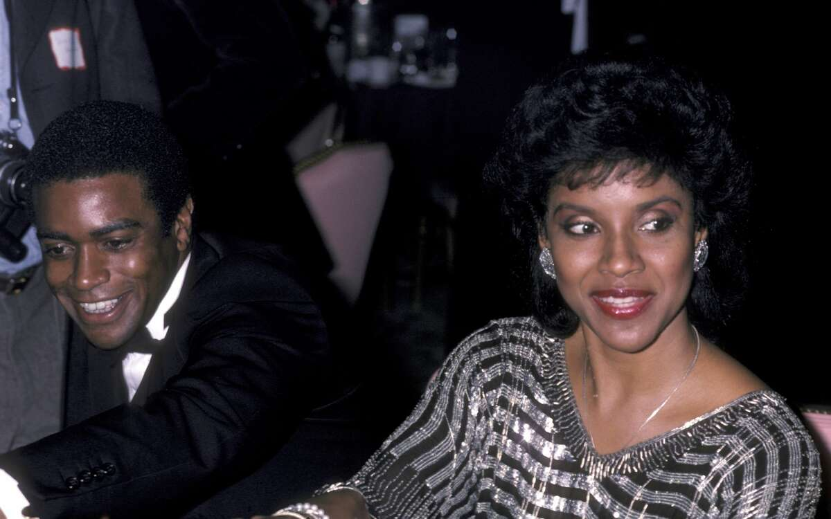 1986: Phylicia Rashad and sportscaster Ahmad Rashad, her then-husband, attend the premiere party for