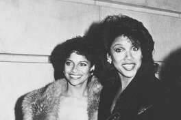 "1984:  Actresses Debbie Allen and Phylicia Rashad attending ""Kennedy Center Honors Awards"" on December 2, 1984 at the Kennedy Center in Washingon, D.C."
