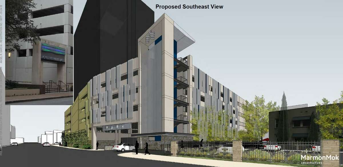 USAA would normally have to pay $1.2 million to buy a small street from the city in order to build a parking garage, but the city wouldn't charge anything under a deal City Council will consider Thursday.