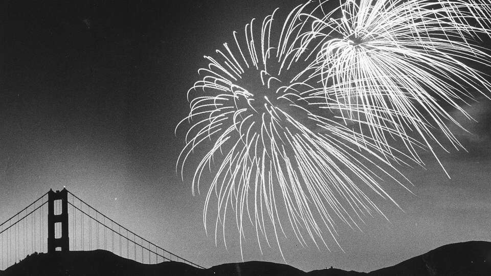 Story photo for Six decades of S.F. Fourth of July photos, from fireworks to fog-outs