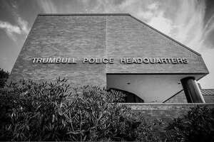 FILE PHOTO — Trumbull, Conn., police headquarters.