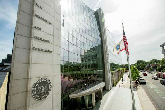 The Securities and Exchange Commission is suing a San Antonio investment adviser and four others who allegedly participated in a $102 million Ponzi scheme. The SEC's Washington headquarters are seen in this 2015 photo.