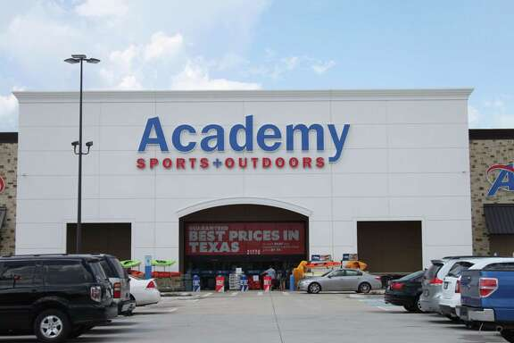 Academy Sports + Outdoors is the first of three anchor businesses that opened in the Valley Ranch Town Center.