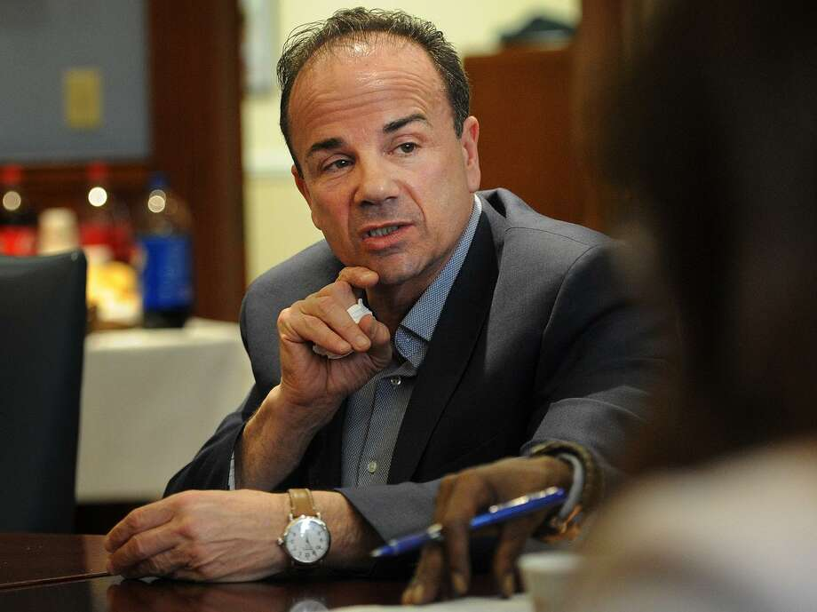 Bridgeport Mayor Joe Ganim speaks about his proposed 2018/19 municipal budget in April. Ganim, Bridgeport's mayor and a Democratic contender for governor, emailed a blistering condemnation of the Republican Trump administration's forced separation of undocumented immigrant parents from their children. Photo: Hearst Connecticut Media File Photo / Connecticut Post