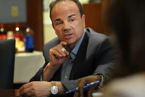 Bridgeport Mayor Joe Ganim speaks about his proposed 2018/19 municipal budget in April. Ganim, Bridgeport's mayor and a Democratic contender for governor, emailed a blistering condemnation of the Republican Trump administration's forced separation of undocumented immigrant parents from their children.