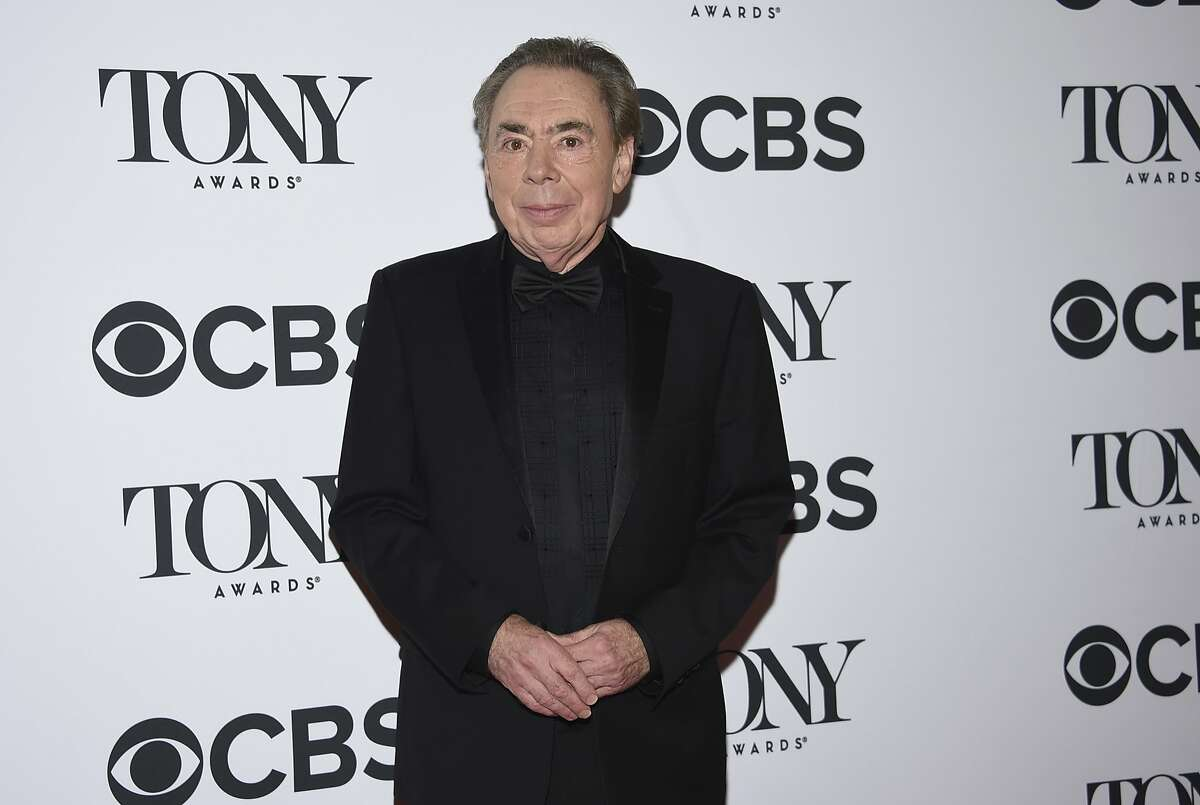 Andrew Lloyd Webber, winner of the lifetime achievement award, poses in the press room at the 72nd annual Tony Awards at Radio City Music Hall on Sunday, June 10, 2018, in New York. (Photo by Evan Agostini/Invision/AP)