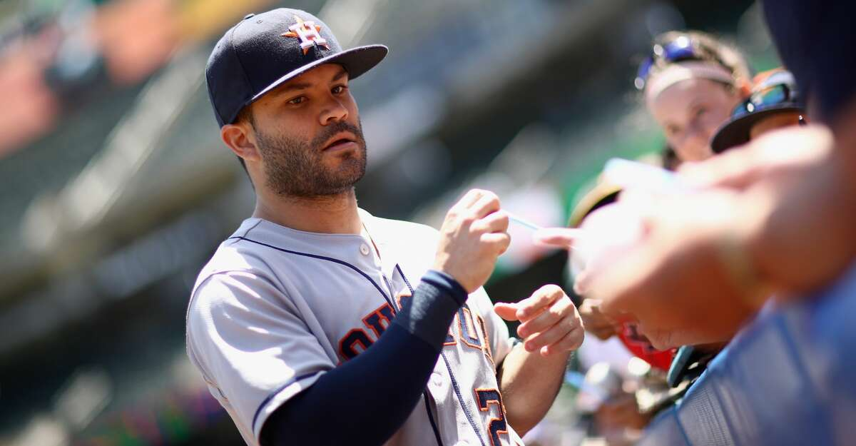 Jose Altuve has been nominated Best Male Athlete in the 2018 ESPYs. Continue clicking to see more of Houston's athletes and teams up for ESPY Awards.