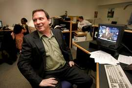 RADNICH17_058_LH.JPG   	Gary Radnich is celebrating his 20th anniversary as a sports anchor at KRON.    Shot in San Francisco on 3/11/05.