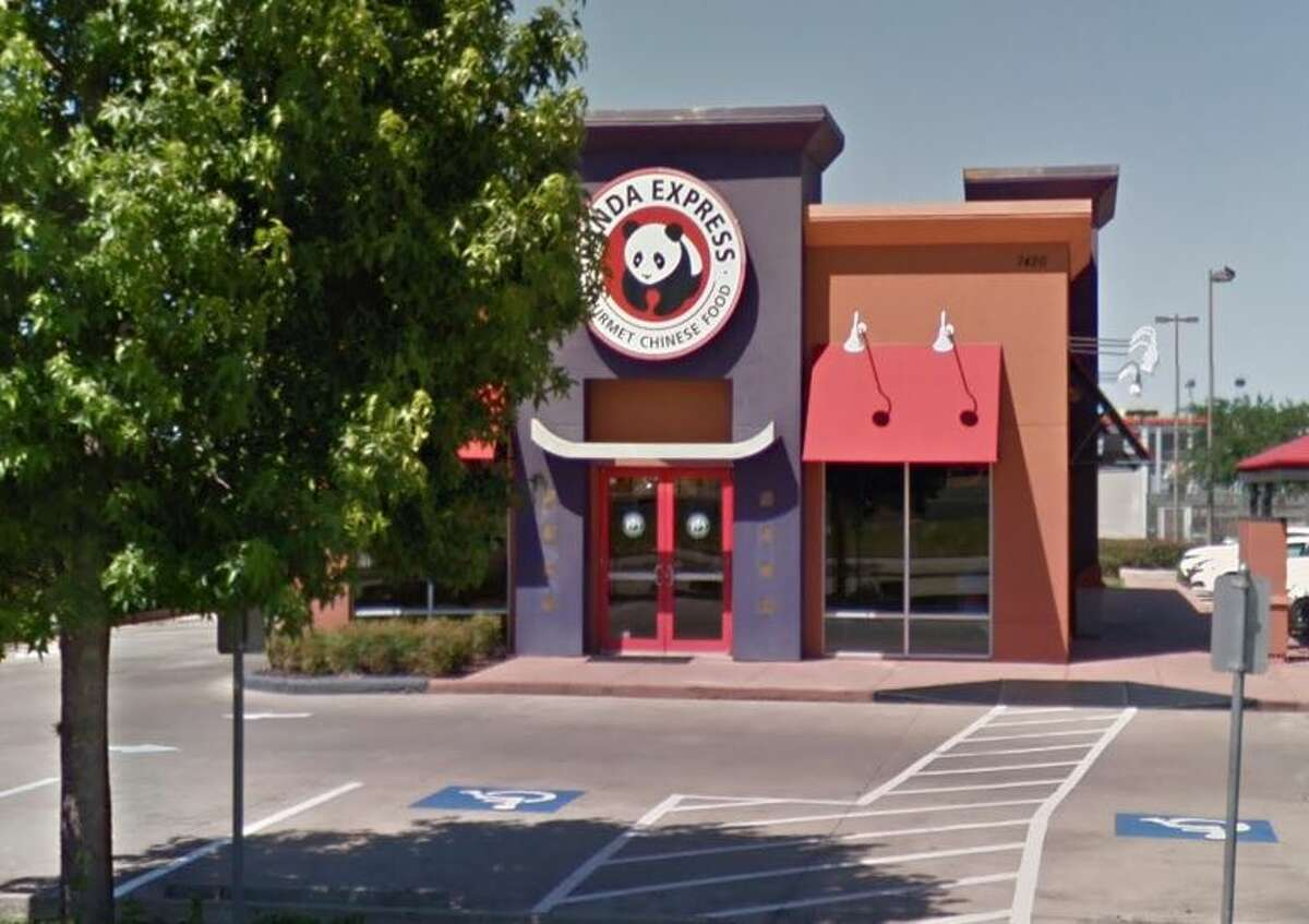 Panda Express  7420 S Sam Houston Pkwy W Houston, TX 77085 Demerits: 16 Inspection Highlights: Condemned six pounds of raw shrimp found in reach in cooler located across rice machine for being at improper temperature over night.