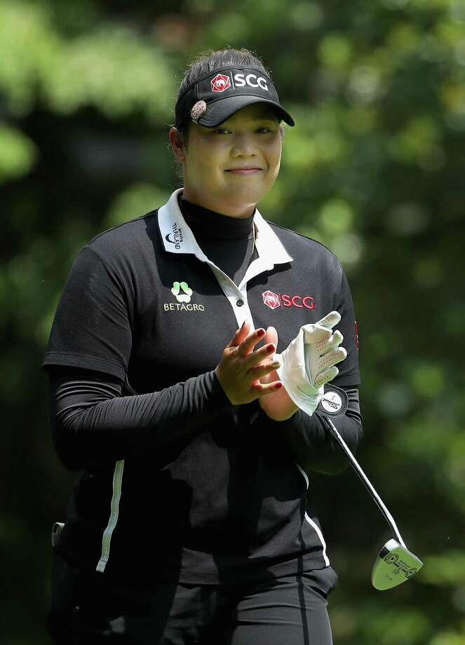 Ariya Jutanugarn of Thailand during the final round of the 2018 U.S. Women's Open at Shoal Creek.  (Photo by Christian Petersen/Getty Images) Photo: Christian Petersen / 2018 Getty Images