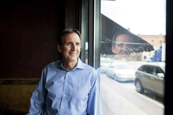 Former Minnesota Gov. Tim Pawlenty, who is running for the office again this year, spoke to business leaders Thursday in Hutchinson, Minn.