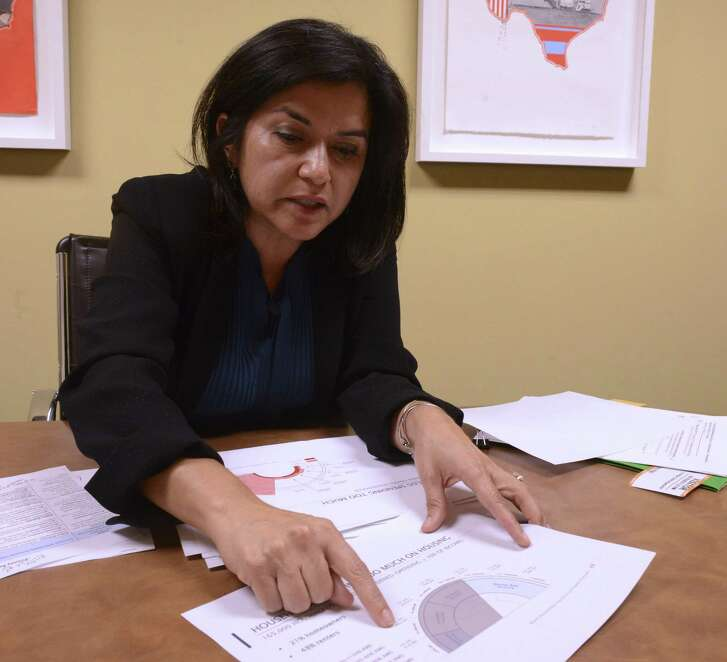 Lourdes Castro Ramirez, former SAHA CEO, HUD official and current leader of Mayor Ron Nirenberg's blue-ribbon housing task force, explains some of the recommendations that she will make to help alleviate San Antonio's housing crisis. June 19, 2018.