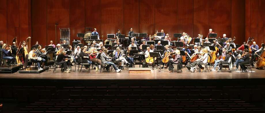 The San Antonio Symphony, shown rehearsing in January for a Tricentennial concert, has undergone decades of financial problems. A task force formed by Mayor Ron Nirenberg and County Judge Nelson Wolff has come up with a strategic plan to address those problems. Photo: John Davenport /San Antonio Express-News / ©John Davenport/San Antonio Express-News
