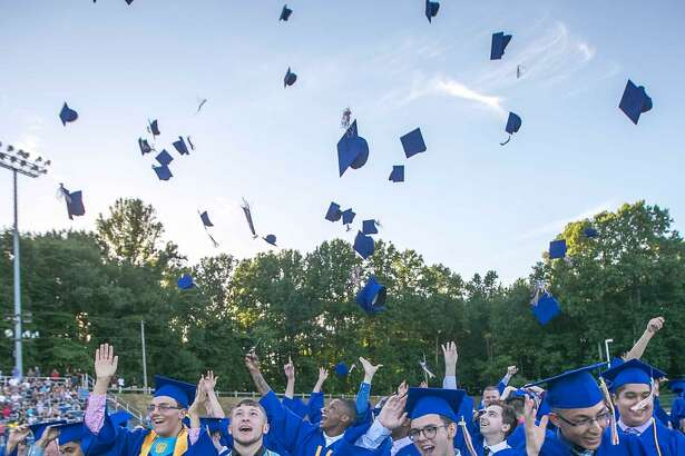 Seymour High School held commencement exercises Tuesday.