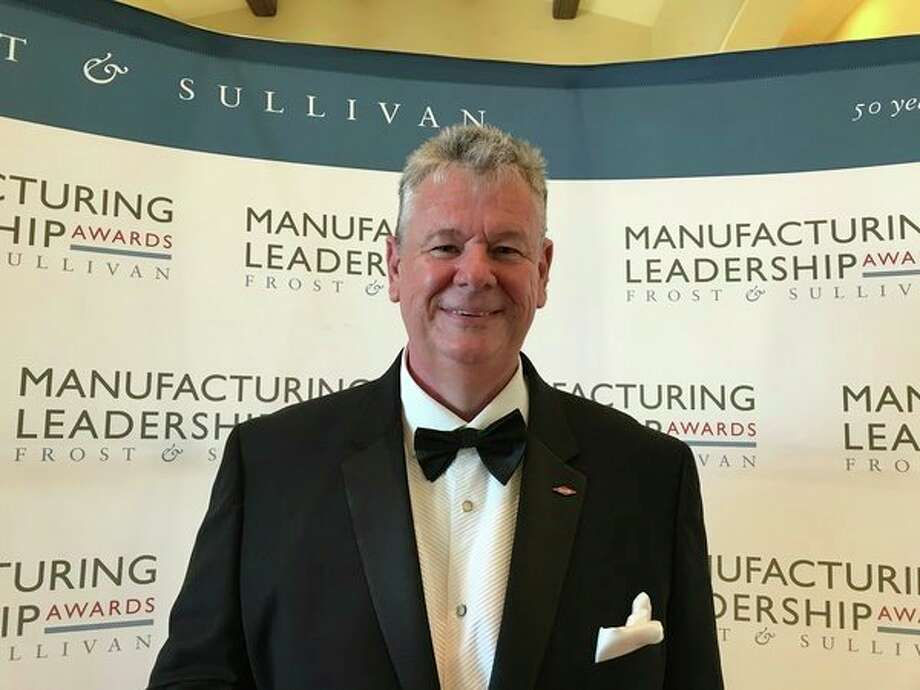 Peter Holicki, senior vice president, Operations, Manufacturing & Engineering, and Environment, Health & Safety Operations, received the Visionary Leadership Award and Manufacturing Leader of the Year award. (Photo provided)