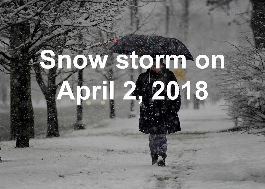 Remember snow? We got our last taste of the stuff in April–click through to reminisce and mentally prepare for whats coming....  / The News-Times
