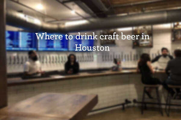 Swipe through to see where you can drink craft beer in Houston.