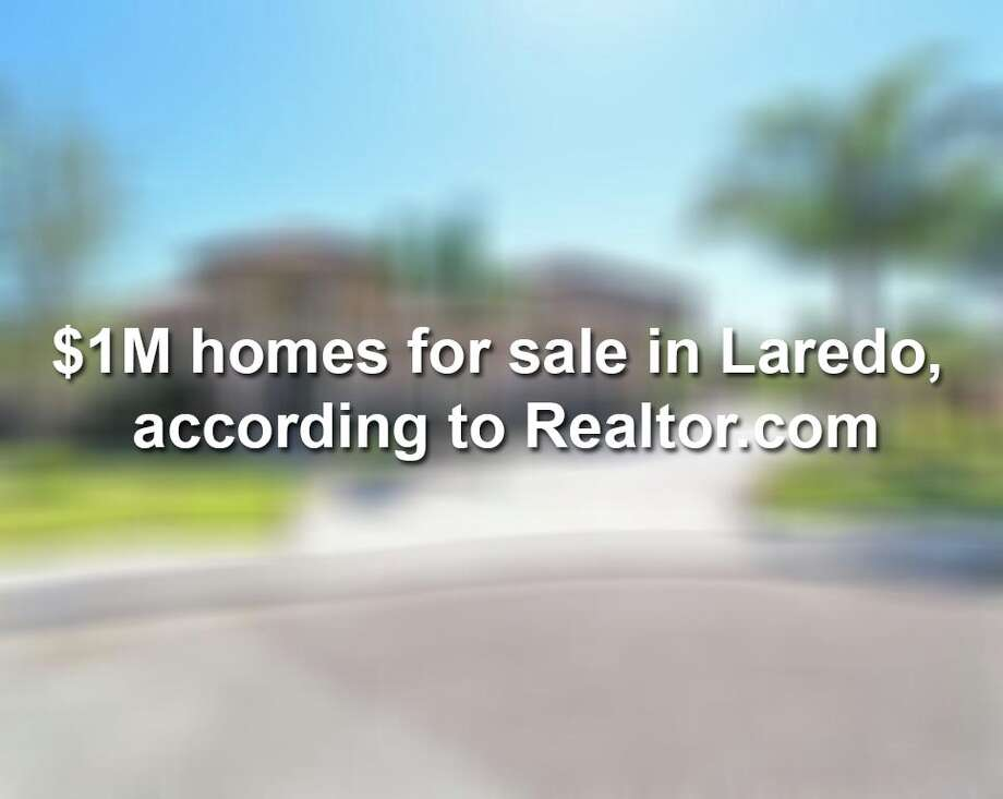Keep scrolling to see $1 million homes for sale in Laredo. Photo: Realtor.com