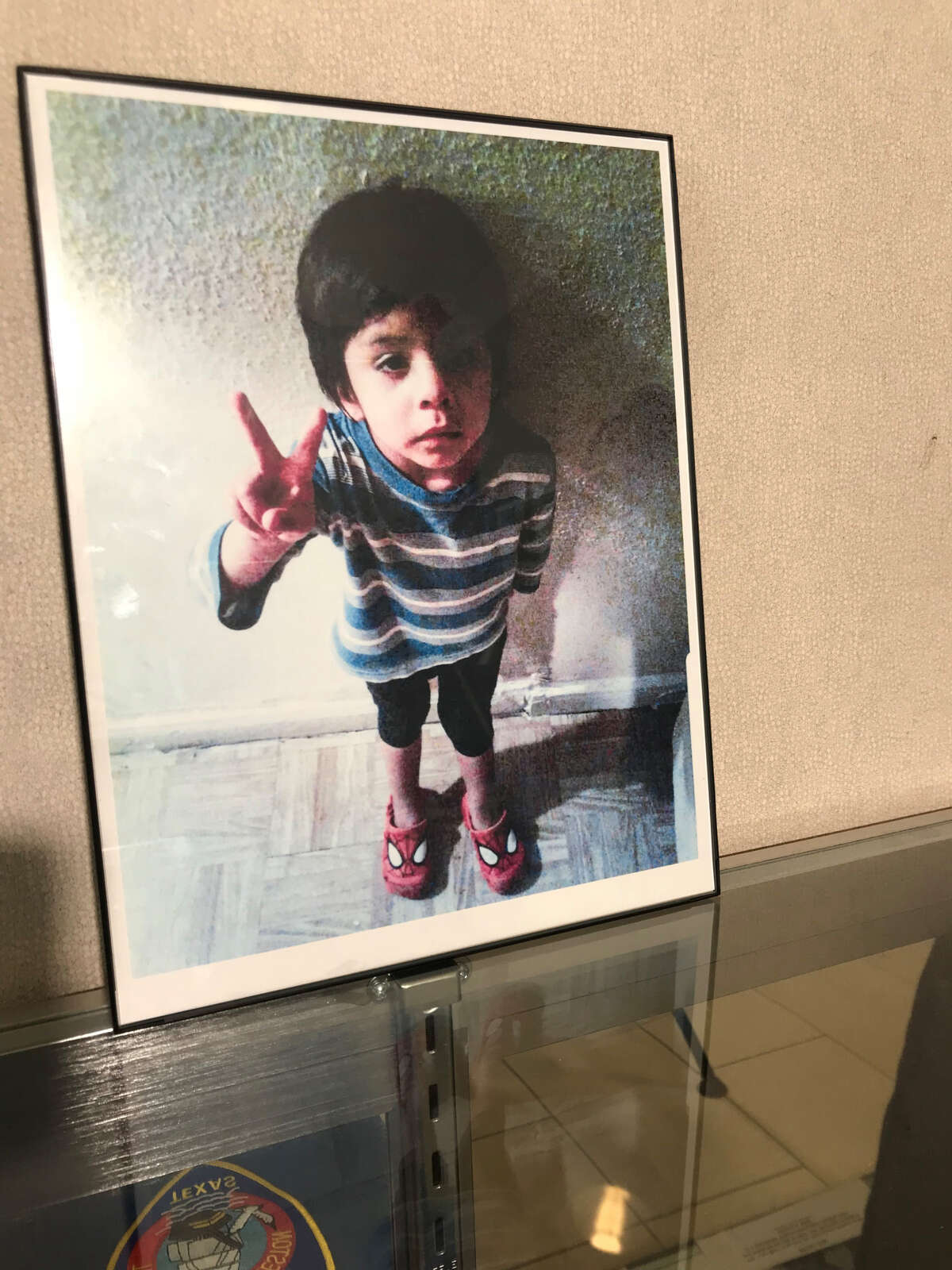 A photo of Jayden Alexander Lopez, whose body was found washed up on a Galveston beach last year.