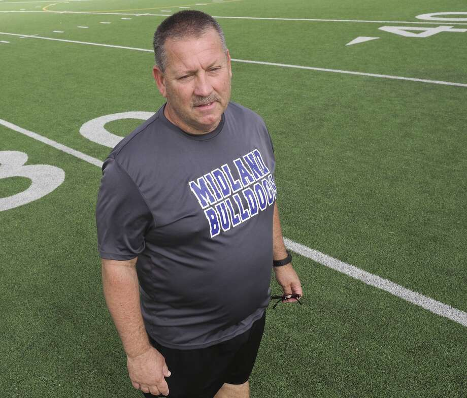 Midland High's assistant football coach Jim Conger is retiring after 16 years teaching and coaching.  06/20/18 Tim Fischer/Reporter-Telegram Photo: Tim Fischer/Midland Reporter-Telegram