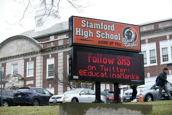 Stamford High School in Stamford, Conn.