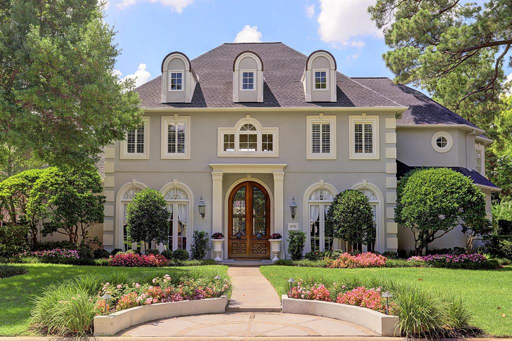 Stunning French Stucco Mansion For Sale In Houston For