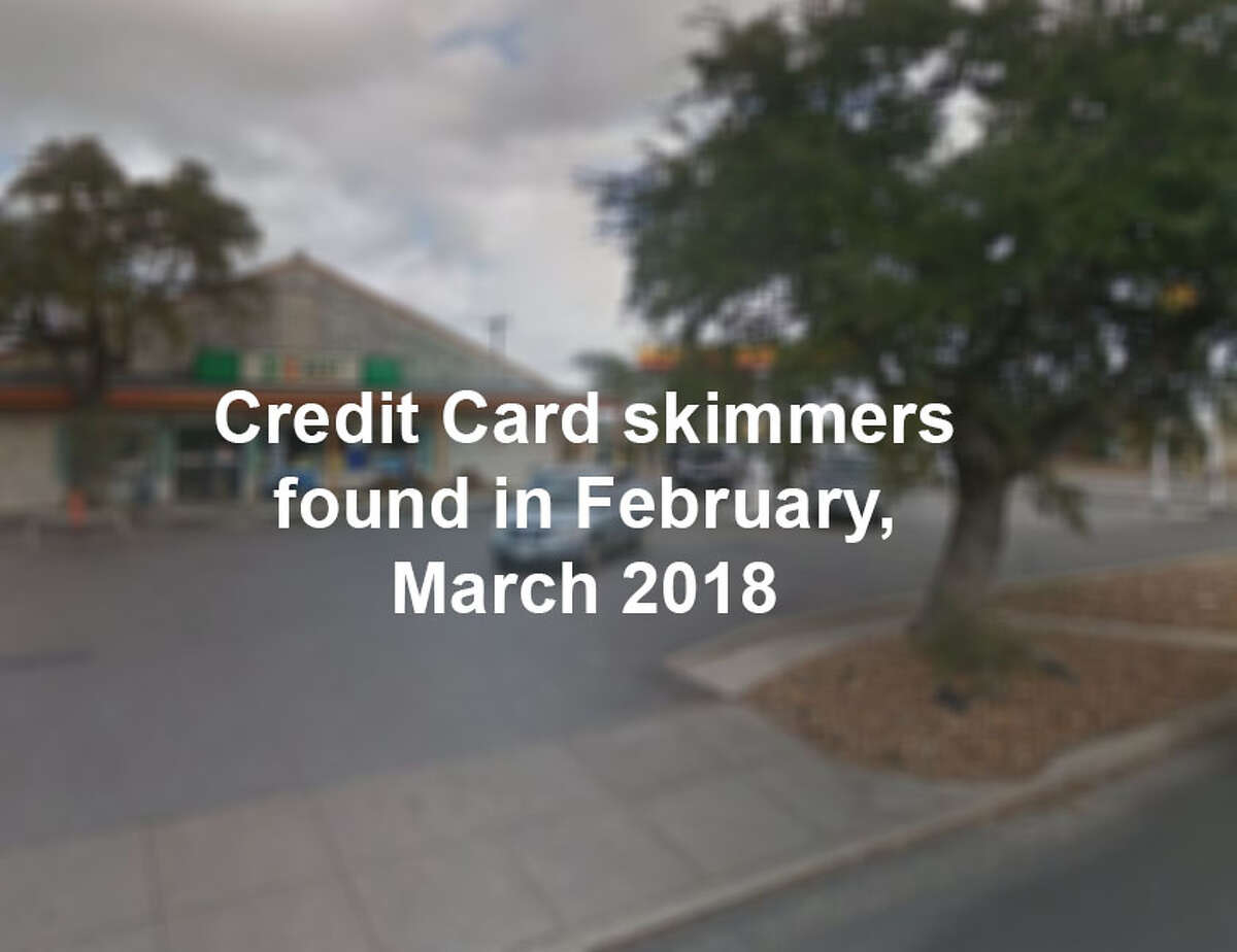 Click through the slideshow to see where skimmers were found.