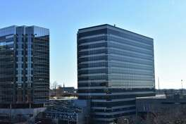 Day Pitney plans to move in the first quarter of 2019 to offices at 1 Stamford Plaza, at right, at 263 Tresser Blvd., in downtown Stamford, Conn.
