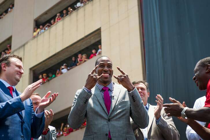 Dwight Howard arrived in Houston in July 13 amid much fanfare. On Wednesday, he was traded for the second consecutive offseason and will be on his fourth team in four seasons this fall.
