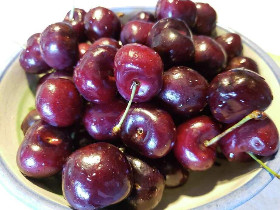 It's sweet cherry season and life is just a bowl of cherries, as the song lyric says. Photo: Frank Whitman / For Hearst Connecticut Media / Norwalk Hour freelance