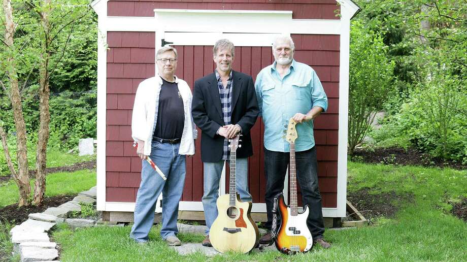 Over Easy, Jim Zembruski, left, Mark Holleran and Steve Cinque, opens Wilton Library's Summer Music and More concert series on June 28. Photo: Contributed Photo / Contributed Photo / Norwalk Hour contributed