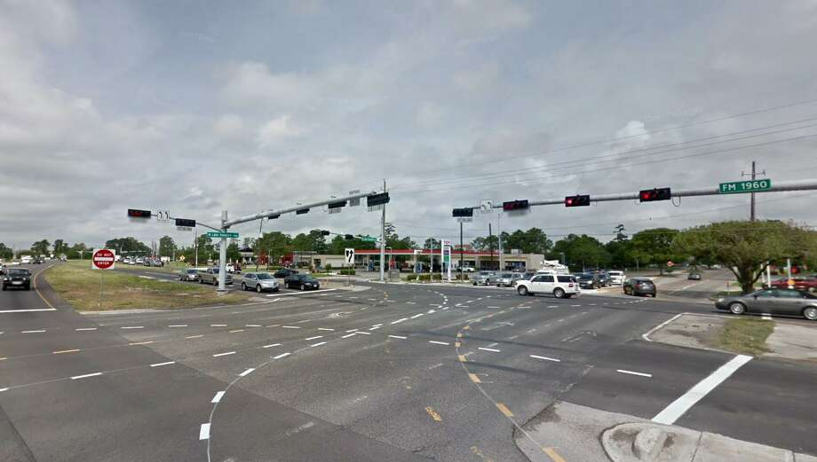 An FM 1960 roadway widening project will include three overpasses, including an overpass at the intersection of FM 1960 and West Lake Houston Parkway. Photo: Courtesy Of Google Maps / Courtesy Of Google Maps