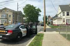 Bridgeport police were at Maple and Kossuth streets shortly before 3 p.m. on reports of a serious accident involving a motorcycle.