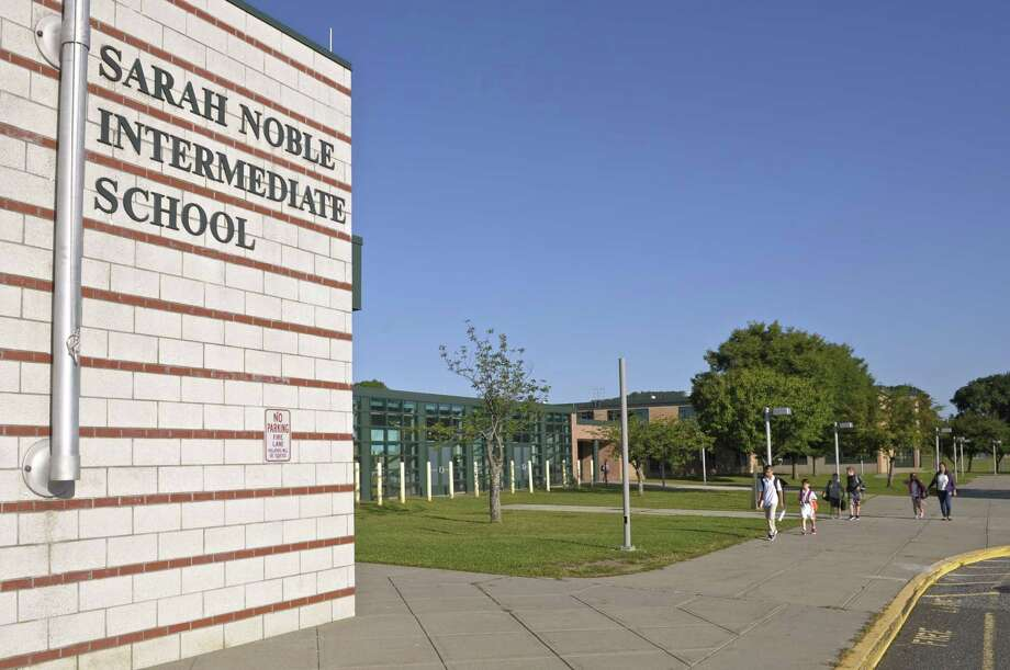 File photo of Sarah Noble Intermediate School. Photo: H John Voorhees III / Hearst Connecticut Media / The News-Times