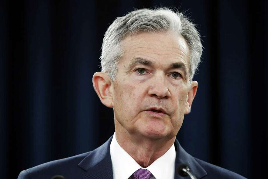 In this June 13, 2018, photo Federal Reserve Chair Jerome Powell speaks to the media after the Federal Open Market Committee meeting in Washington. Photo: Jacquelyn Martin /Associated Press / Copyright 2018 The Associated Press. All rights reserved.