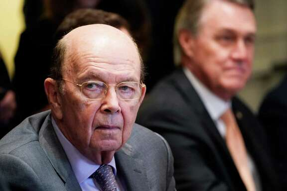 Commerce Secretary Wilbur Ross attends a meeting with US President Donald Trump and Republican members of Congress and Cabinet members in the Cabinet Room of the White House on June 20, 2018 in Washington, DC.