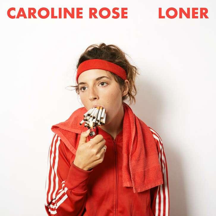 "Cover for ""LONER,"" an album by Caroline Rose."