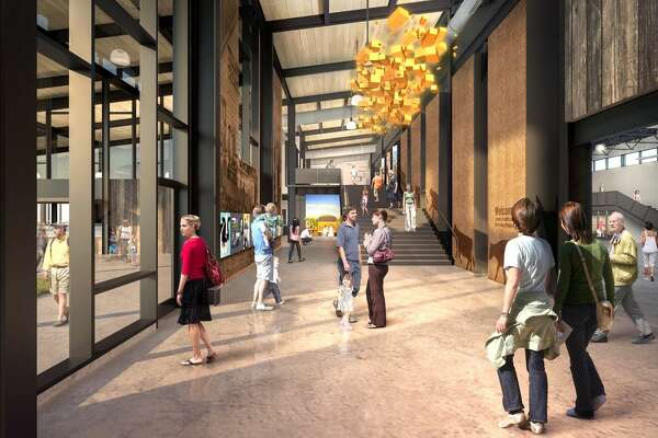 A rendering of the new Tillamook Creamery visitor's center.