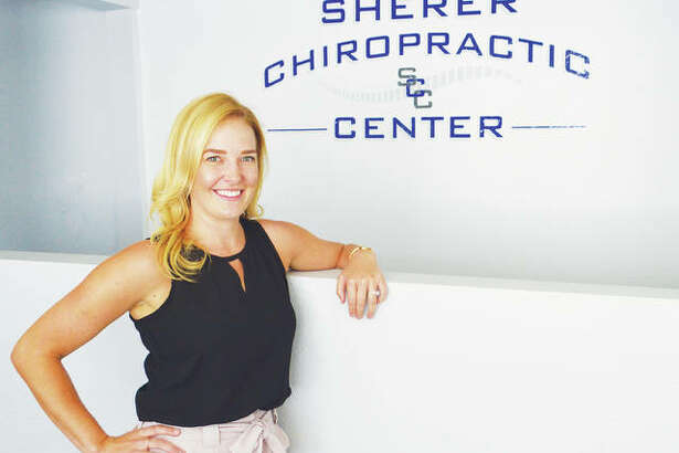Dr. Renee L. Edelen at Sherer Chiropractic Center in Godfrey.