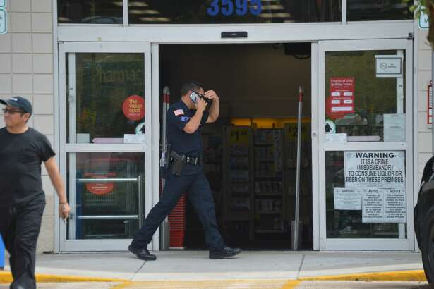 Beaumont police investigate a report of a robbery at CVS, located at the corner of College St. and 11th Street. 