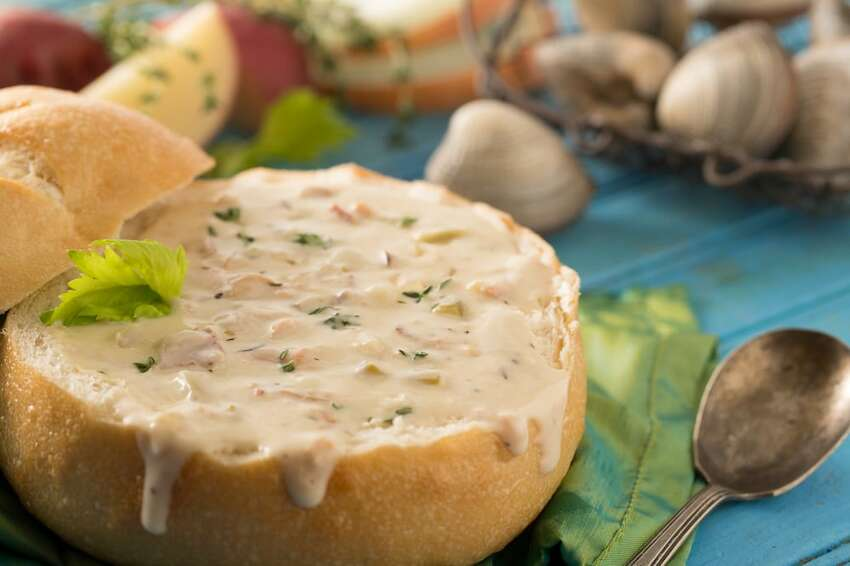 The New England clam chowder at Pike Place Chowder is named the No. 1 dish among Yelpers across the country. Charlene S. wrote: