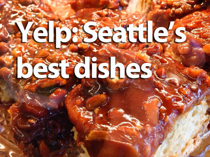 A certain Seattle classic -- admittedly cribbed from the other coast -- appears as the eaters' favorite dish on Yelp. Check out what local delicacy won the honor, as well as the other five dishes that Yelpers claim are their favorite.