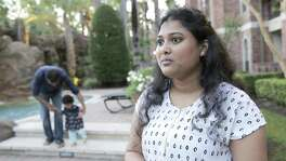 "Manasa Kokonda is one of thousands of Indian women with the H-4EAD visas who will likely lose their work authorization this year under Trump's ""Buy American, Hire American"" executive order. ""I cannot imagine my life again sitting at home,"" said Kokanda, who works as a software analyst for a local energy services company."