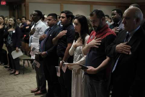 New citizens in S A  naturalized on World Refugee Day - San Antonio