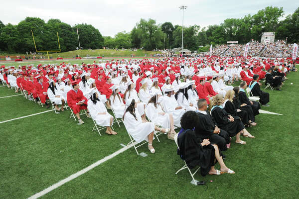 The 149th Greenwich High School Commencement at the school in Greenwich, Conn., Wednesday, June 20, 2018.