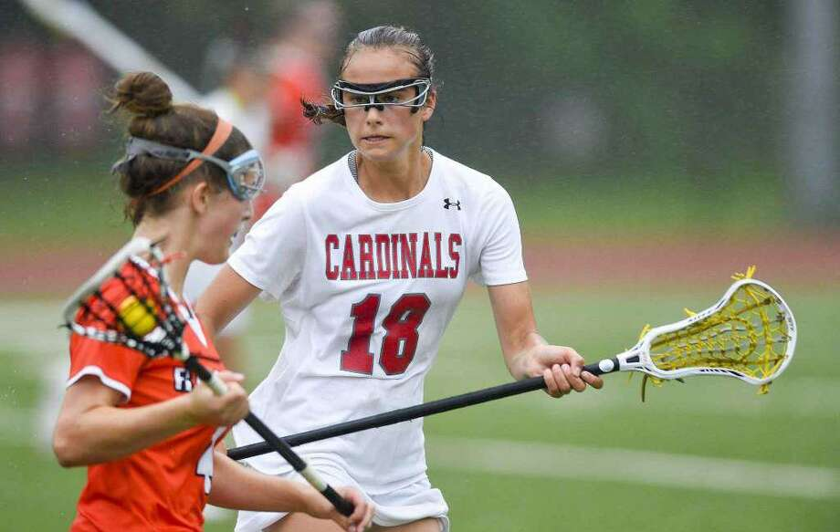 Genevieve DeWinter of Greenwich was selected as a member of the CHSCA/US Lacrosse Connecticut High School All-American Team. Photo: Contributed Photo / Stamford Advocate Contributed