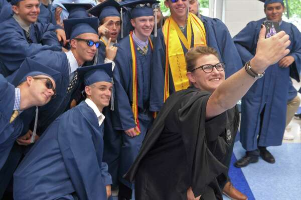Oxford High School Class of 2018 Commencement, Wednesday, June 20, 2018, at Oxford High School, Oxford, Conn.