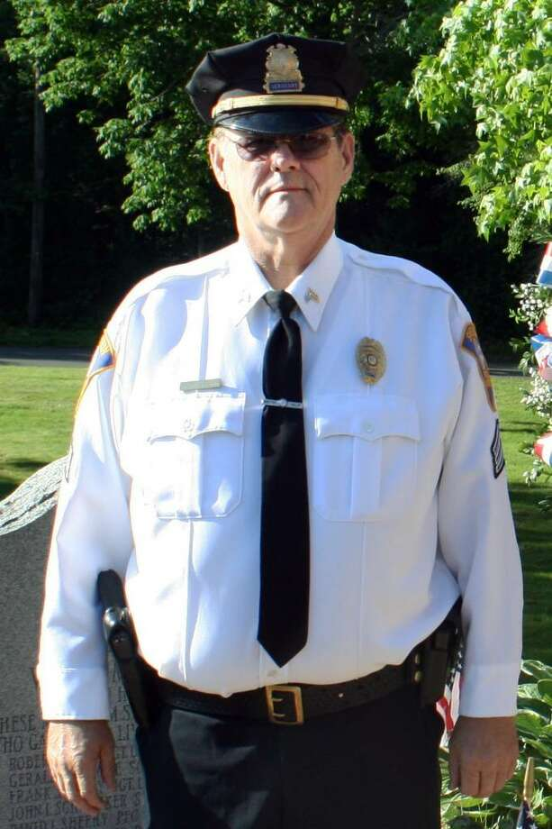The Shelton Police Department have announced the death of Police Sergeant Orville Smith due to complications from internal injuries that Smith sustained late Saturday night while on duty.  Smith and his police cruiser were struck by a Nissan Frontier pickup truck on Route 110 at the intersection of Indian Well Road in Shelton while directing traffic after a private fireworks event. Photo: Contributed Photo / Connecticut Post Contributed