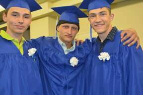The 2018 graduation ceremony for Oliver Wolcott Technical School on June 20 at the Warner Theatre in Torrington