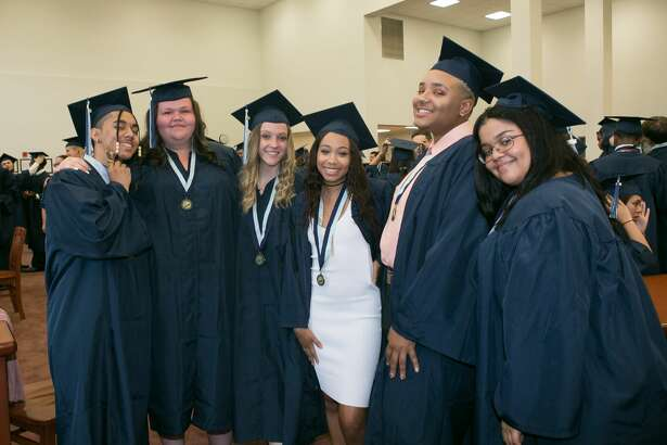 Images of Middletown High School's commencement exercises Wednesday, June 20, 2018 at Middletown High School.